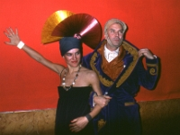 "PH003  Paloma Picasso - Manolo Blahnik - Grand Bal ""Magic City"" - 12 avril 1978"